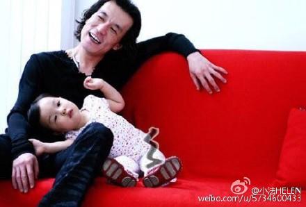 Fatumai sun childhood with dad photo Shen Teng ridicule November 10 Li Yong