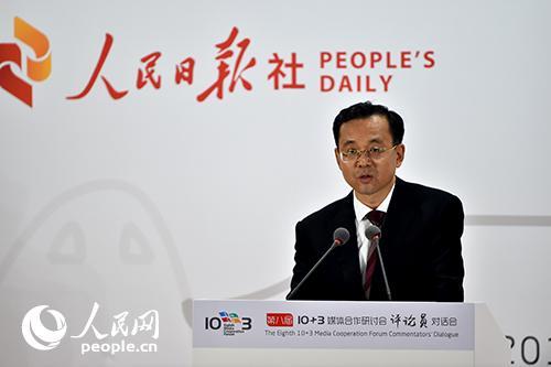 人民日报社副总编辑、国际部主任吕岩松