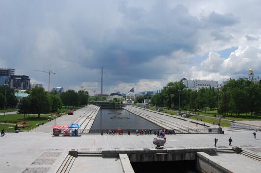 俄罗斯人口第四大城市叶卡捷琳堡和它的媒体