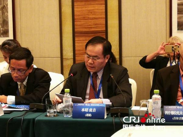 老挝国家电台台长:中国的发展为世界带来极大的机遇
