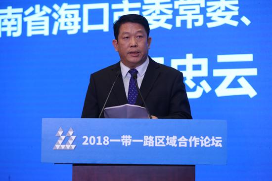 海南省海口市委常委、宣传部部长王忠云
