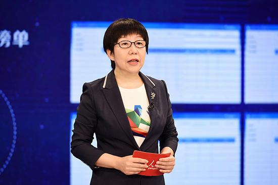 """人民网副总裁唐维红宣布""""中国媒体融合传播指数平台""""正式上线"""