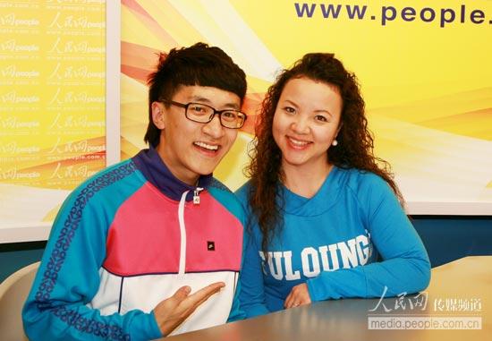 王文超/中央人民广播电台MusicRadio音乐之声主持人楚悦(右)、王文超