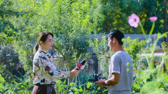 新疆喀什疏勒县融媒体中心阿依帕夏·图拉普:幸福,在这里绽放